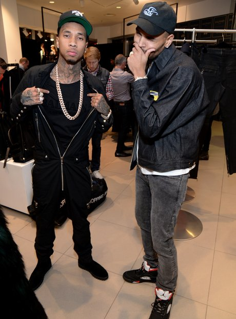 Chris Brown Tyga Balmain