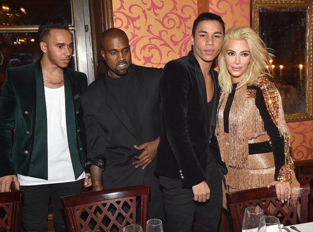 Lewis Hamilton Kanye West