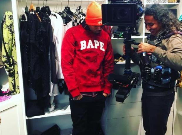 Chris Brown Bape Instagram  Png