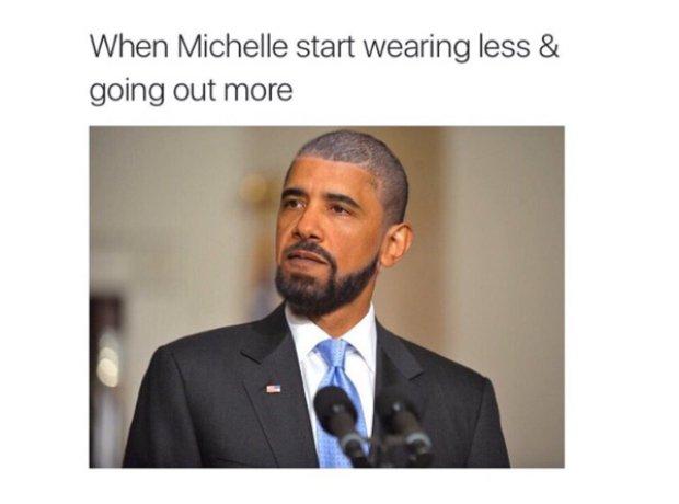 Barack Obama Drake Haircut