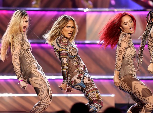 Jennifer Lopez American Music Awards 2015 Performa