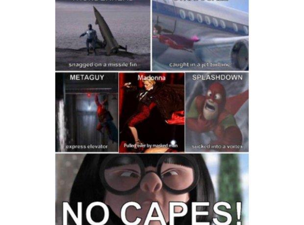 Madonna No Cape