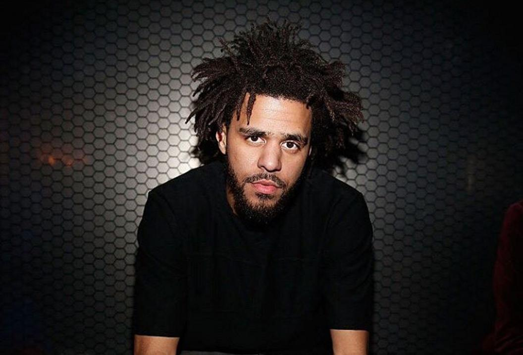 J Cole hair