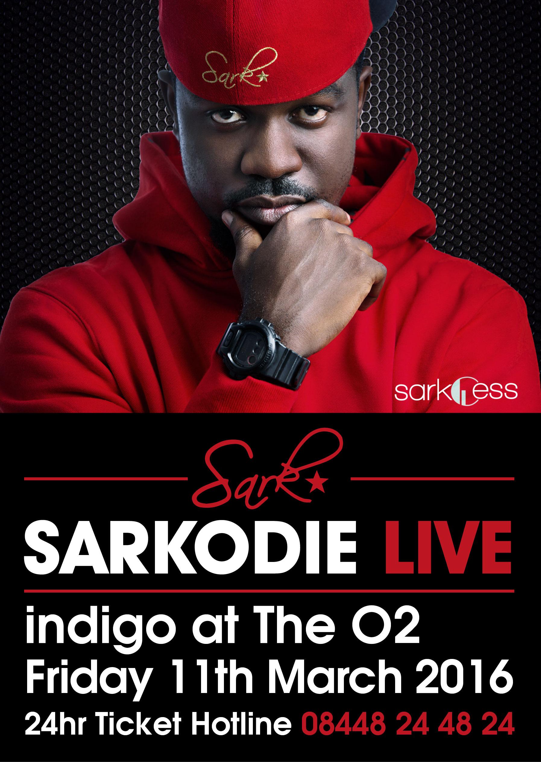 Sarkodie 2016 tour