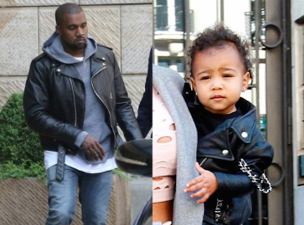 Kanye West North West