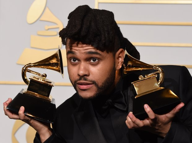 The Weeknd at the Grammy Awards 2016