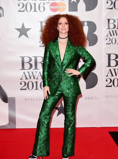 Jess Glynne Red Carpet Arrival Brit Awards 2016