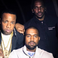 Image 4: Kanye West stood with Yo Gotti and Pusha T