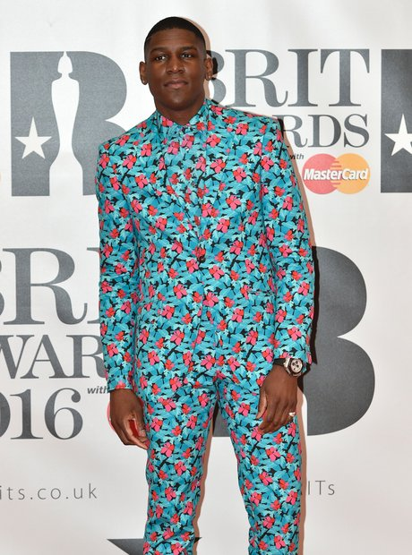 Labrinth red Carpet Arrivals brit Awards 2016
