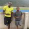 Image 8: Kendrick Lamar and Usain Bolt at running track