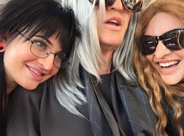 Kylie, Khloe and Kendall try to go incognito OAP c