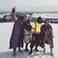 Image 3: Kanye West and Kardashians on Ski slope