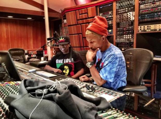 Missy Elliott and Pharrell
