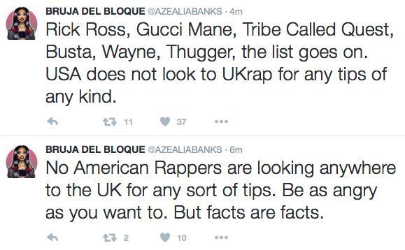 Azealia Banks rap rant