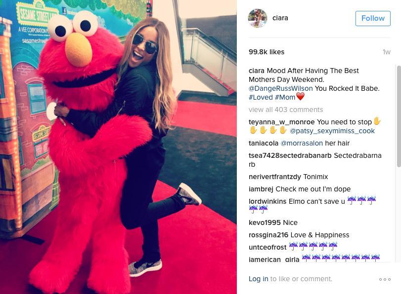 Ciara Instagram post