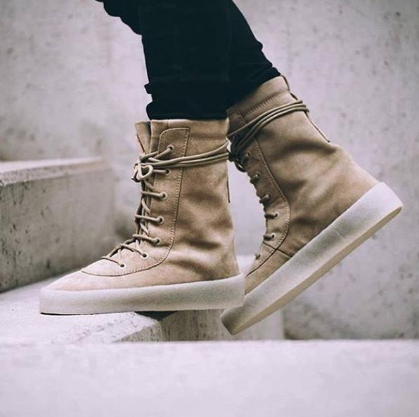 Kanye West Crepe Sole Boot