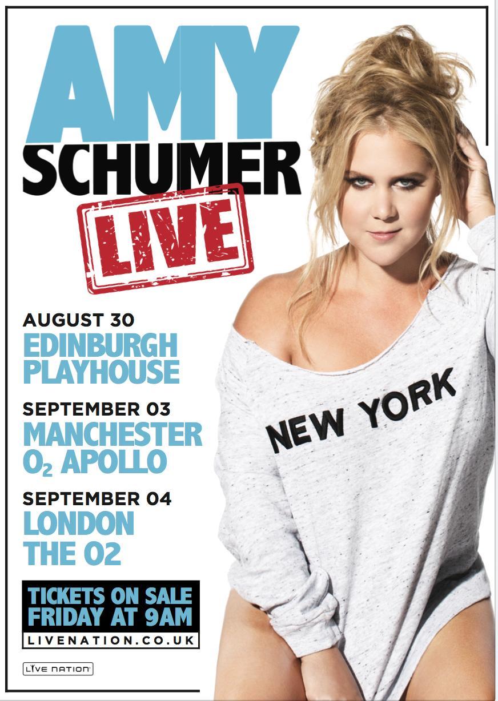 Amy Schumer tour