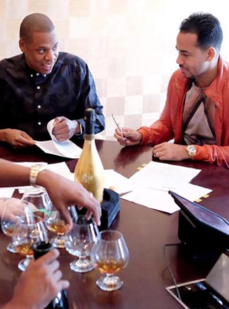 Jay Z and Romeo Santos