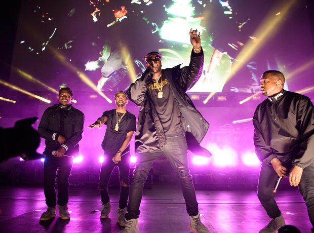 Pusha T, Big Sean, 2 Chainz and Kanye West per