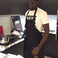 Image 6: Stormzy in kitchen