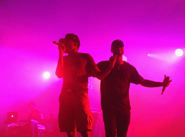 Chance the Rapper and Bryson Tiller