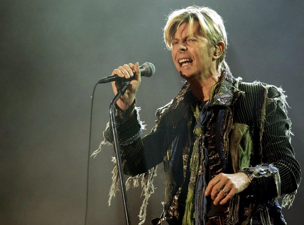 David Bowie Bowie performing in 2004