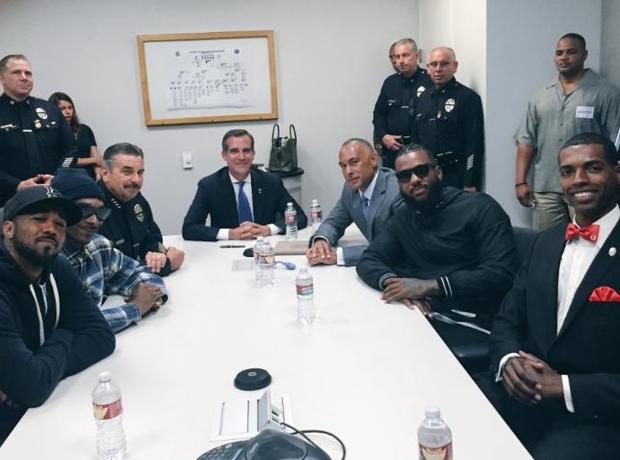 The Game Snoop Dogg LA Mayor