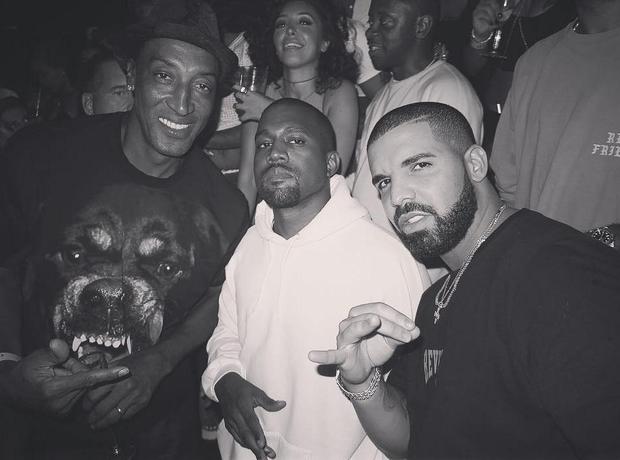 Drake Kanye West