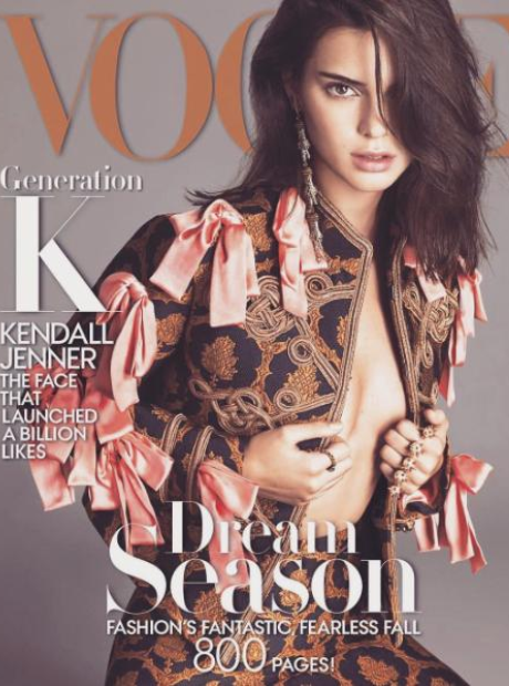 Kendall Jenner September Vogue Magazine Cover