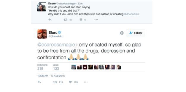 Jhene Aiko tweet about divorce