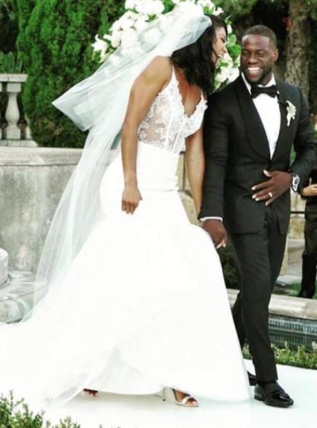 Kevin Hart Wedding Photos