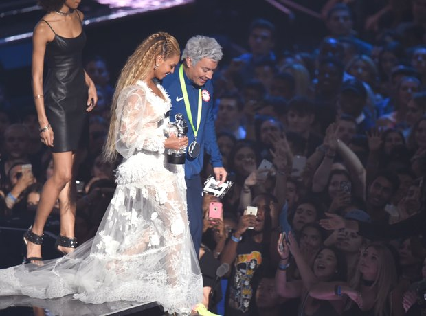 Beyonce and Jimmy Fallon MTV VMAs 2016