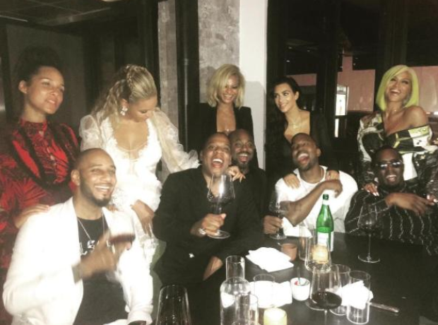 Kanye West Beyonce Jay Z Puff Daddy
