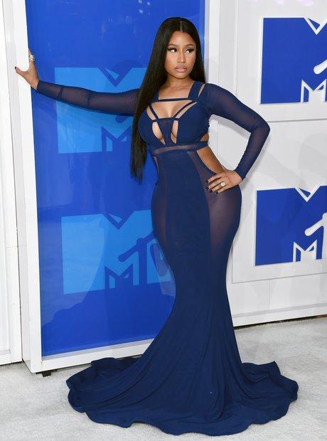 Nicki Minaj MTV VMAs Red Carpet 2016