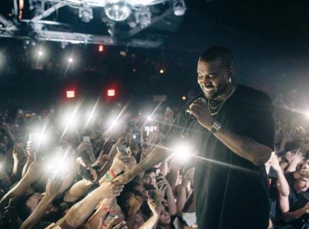 Kanye West Pop Up GOOD Music Show