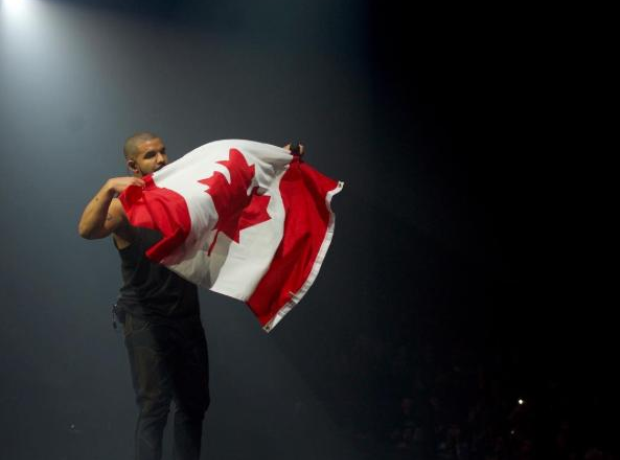Drake Canada Flag