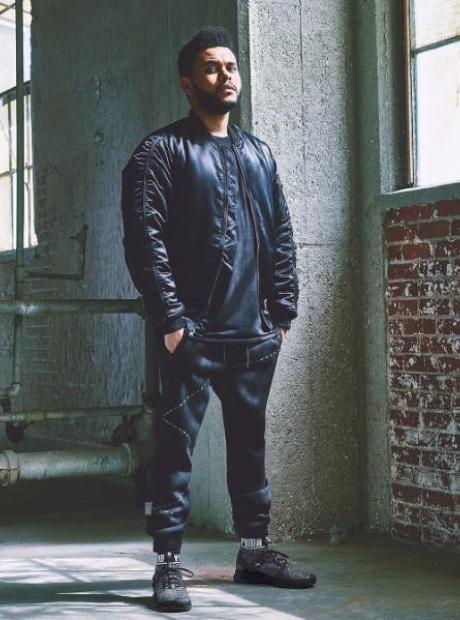 The Weeknd Puma Photoshoot