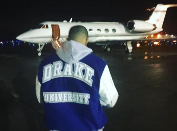 Drake at Drake University 3
