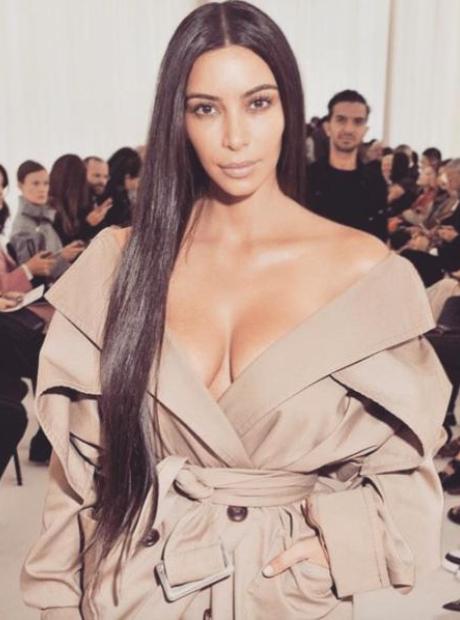 Kim Kardashian Makeup Free