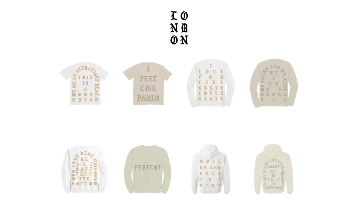 Kanye West Pablo Supply