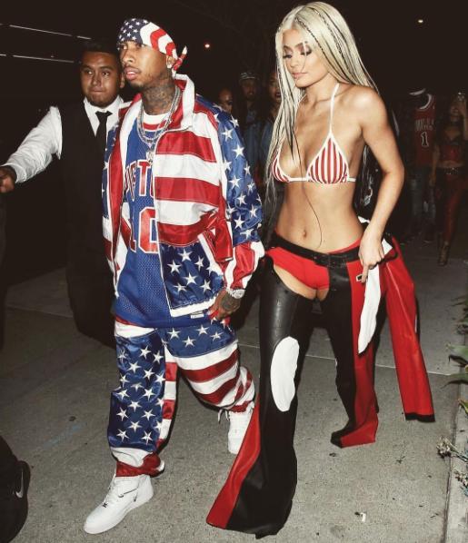 Kylie Jenner Tyga Halloween