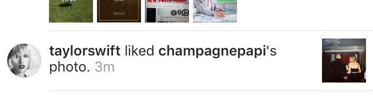 Taylor Swift Drake Instagram