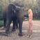 Image 2: Iggy Azalea and an Elephant