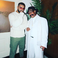 Image 4: Drake and his father Dennis Graham AMAs