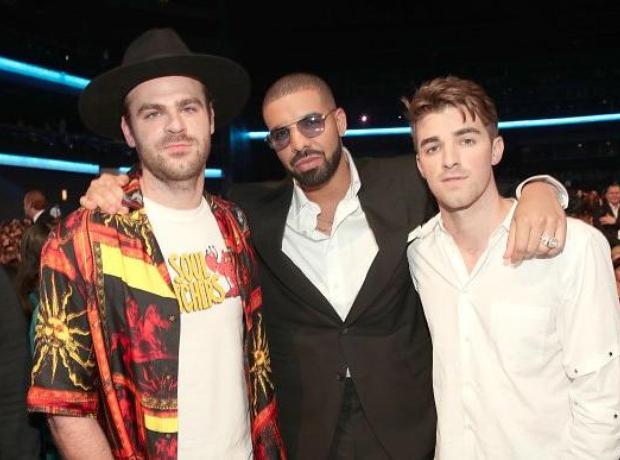 Drake and the Chainsmokers at AMAs