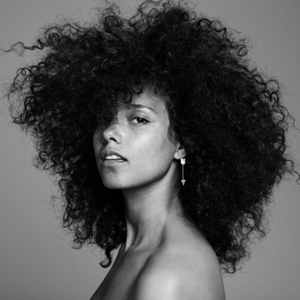 Alicia Keys HERE Artwork