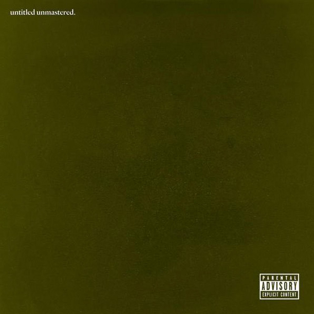 Kendrick Lamar Untitled Unmastered Artwork