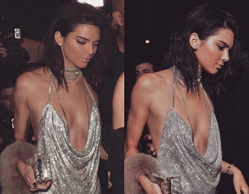 Kendall Jenner 21st Birthday Dress