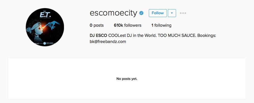 DJ Esco Instagram