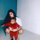 "Image 2: Kim Kardashian and Saint West - ""my son"""